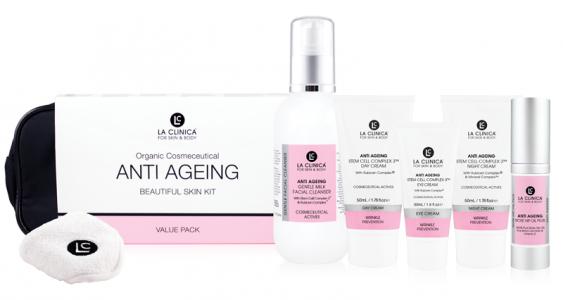A8 – Anti Ageing Beautiful Skin Kit